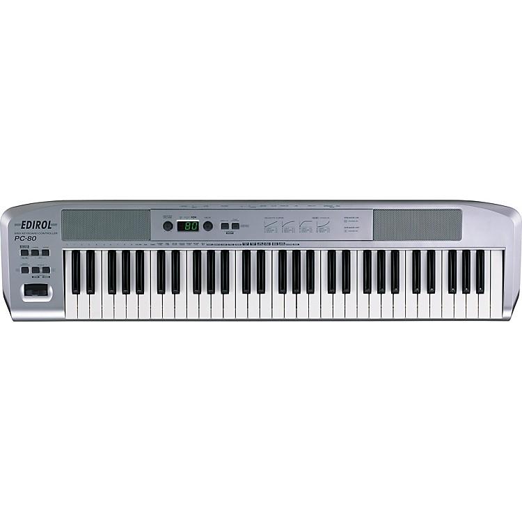 edirol pc 80 usb midi controller with software instrument musician 39 s friend. Black Bedroom Furniture Sets. Home Design Ideas