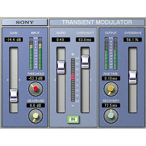 Sony PC-TMDG2 Oxford Transient Modulator Plug-in for TC PowerCore