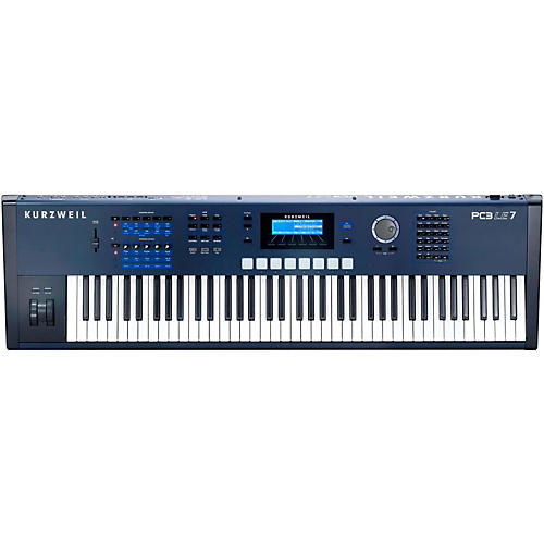 kurzweil pc3le7 76 key semi weighted keyboard musician 39 s friend. Black Bedroom Furniture Sets. Home Design Ideas