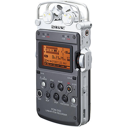 Sony PCM-D50 Portable Linear PCM Digital Recorder