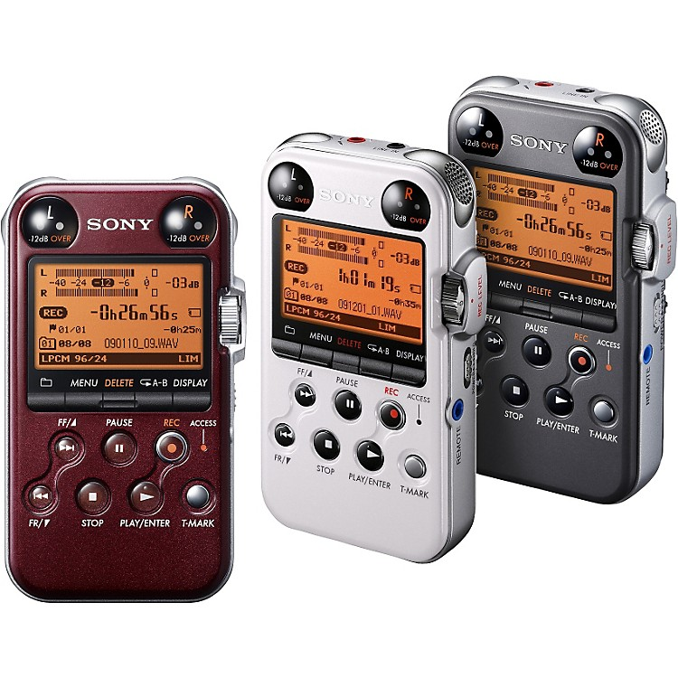 Sony PCM-M10 Portable Digital Recorder Glossy Red