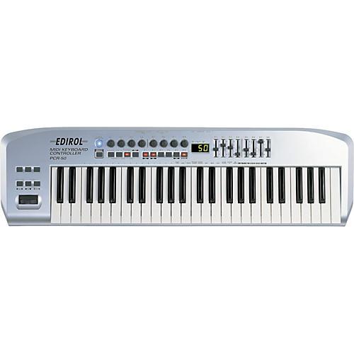 Edirol PCR-50 USB MIDI 49-Key Controller