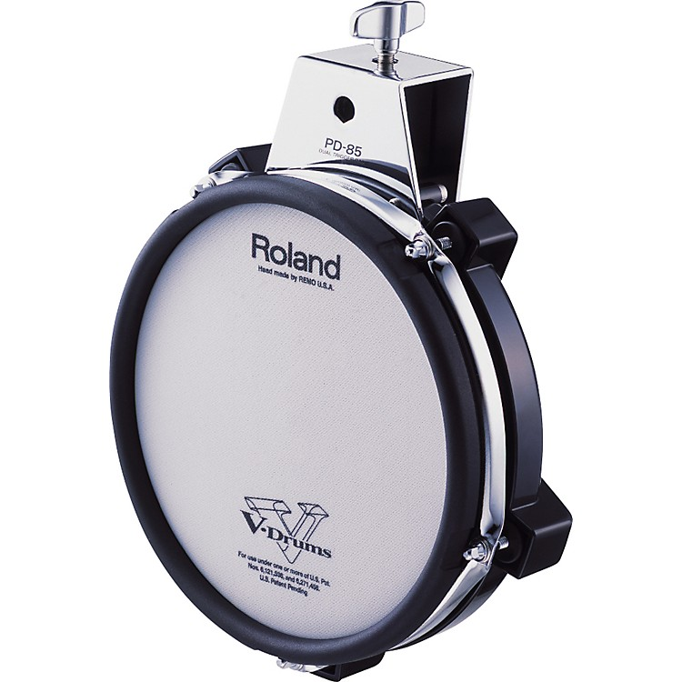 Roland PD-85 Mesh Dual Zone V Drum Trigger Pad Black 8 Inches