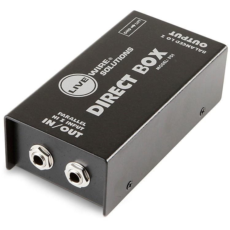 Live WirePDI Double Shielded Heavy Duty Passive Direct Box