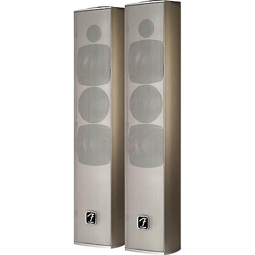 Fender PDP-1 Silver A/V Display Speakers-thumbnail