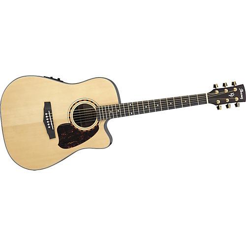Ibanez PF Series PF5ECE Dreadnought Cutaway Acoustic-Electric Guitar-thumbnail
