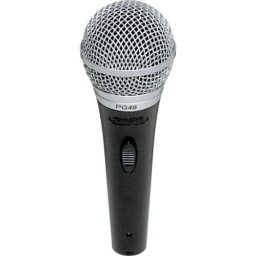 Shure PG48-LC Cardioid Dynamic Handheld Microphone