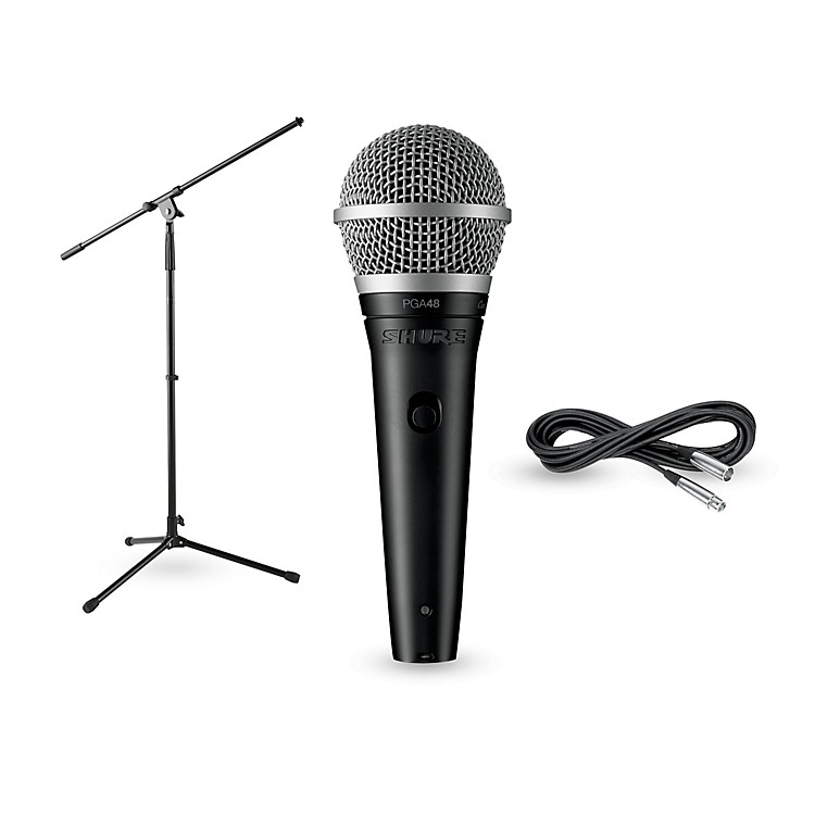 Shure PG48-LC , Stand & Cable Package