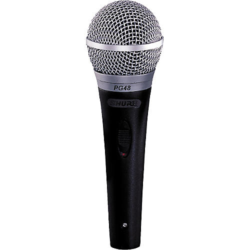 Shure PG48-XLR Microphone with Switch