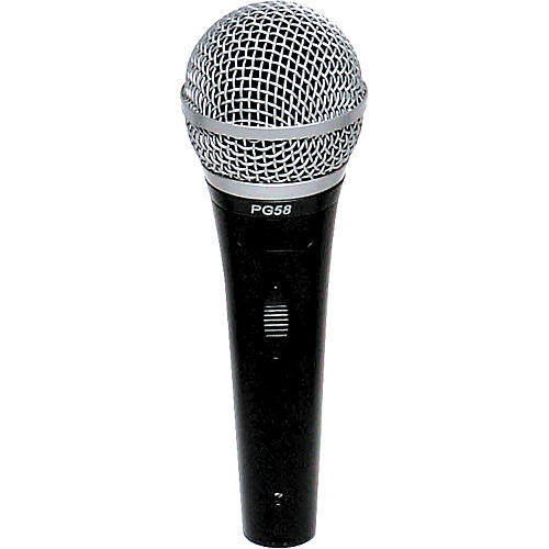 Shure PG58-LC Cardioid Dynamic Handheld Microphone-thumbnail