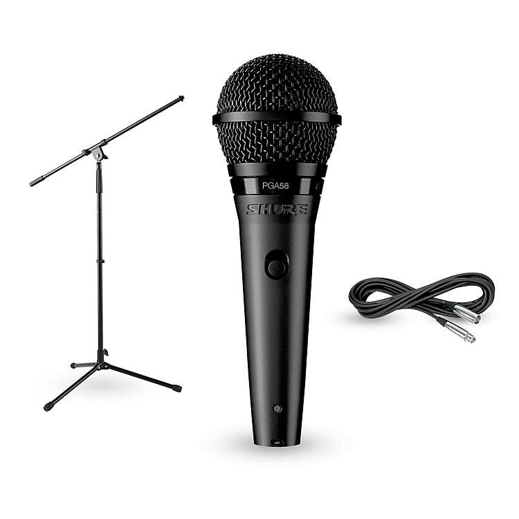 Shure PG58-LC, Stand & Cable Package