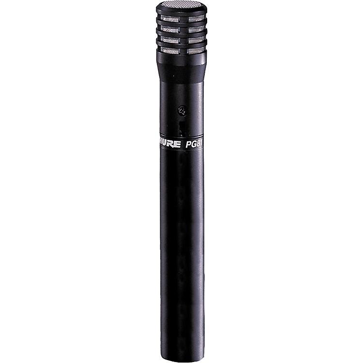 ShurePG81-LC Condenser Microphone