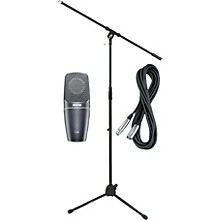Shure PGA42 Condenser Mic with Cable and Stand