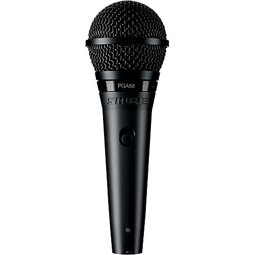 Shure PGA58 Cardioid Dynamic Vocal Microphone-thumbnail