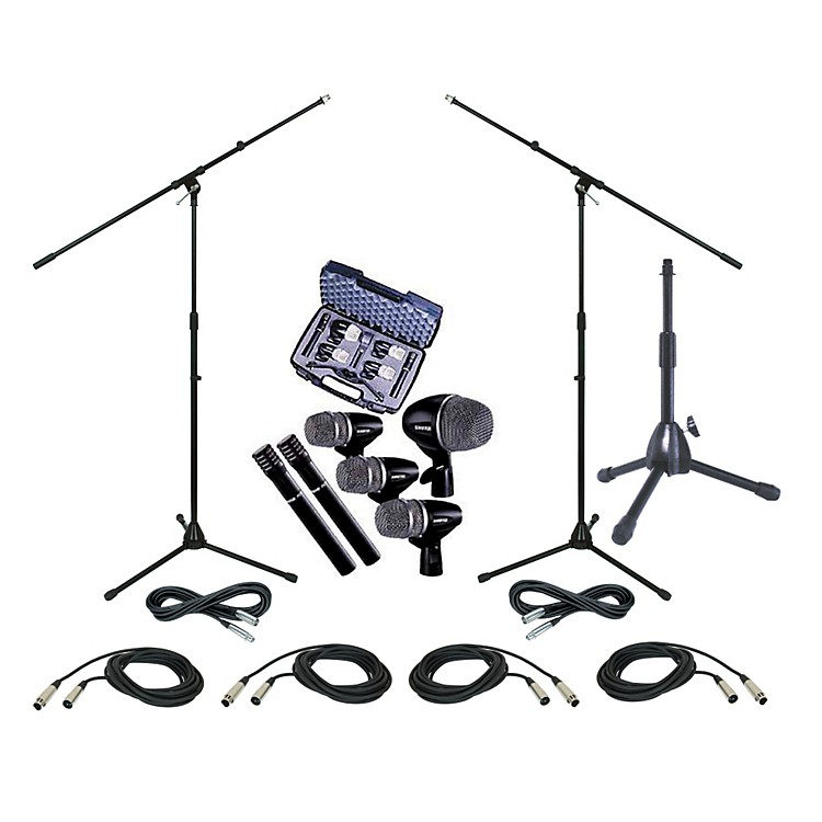 Shure PGDMK6 Drum Mic Package