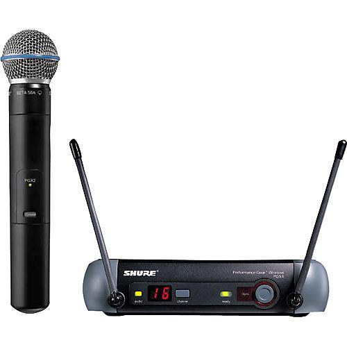 Shure PGX24/Beta 58 Handheld Wireless System