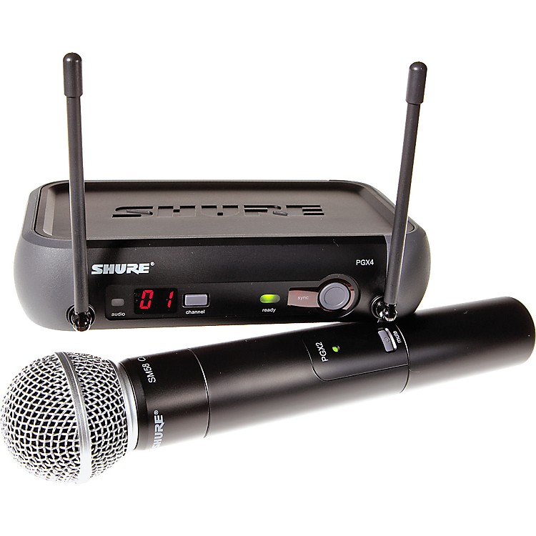 Shure PGX24/SM58 Handheld Wireless System