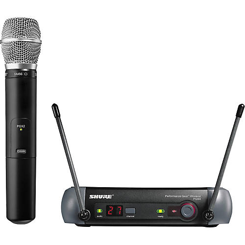 Shure PGX24/SM86 Handheld Wireless System
