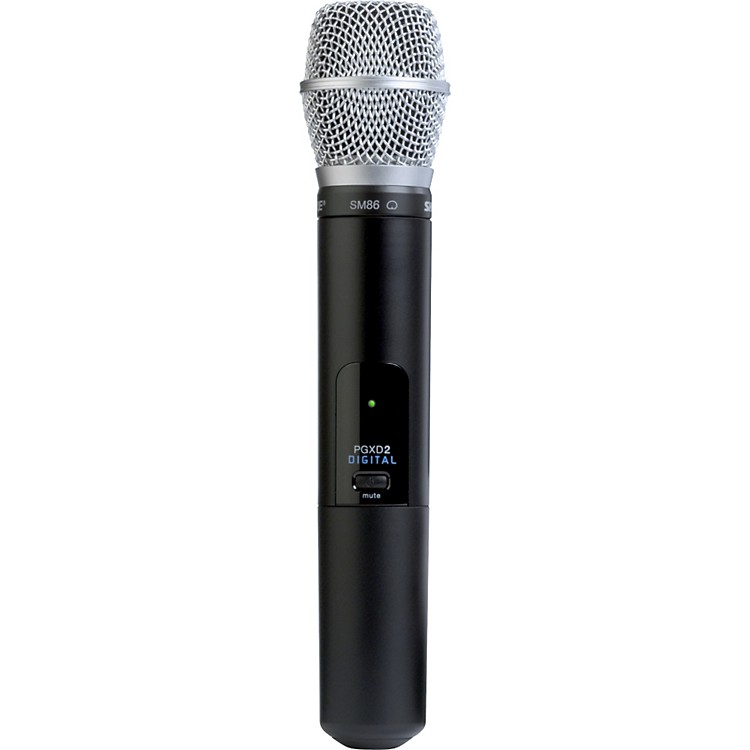 Shure PGXD2/SM86 Handheld Transmitter with SM86 Mic