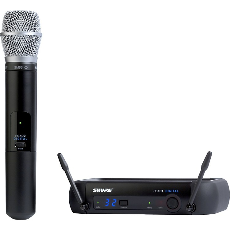 Shure PGXD24/SM86 Digital Wireless System with SM86 Mic