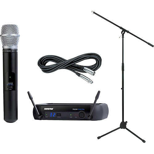 Shure PGXD24/SM86 Handheld Wireless Package-thumbnail