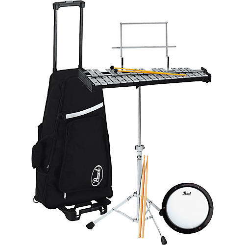 Pearl PK800C 2-1/2 Octave Bell Kit with Roller Bag-thumbnail