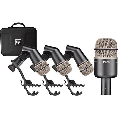 Electro-Voice PL DK4 Drum Mic Pack-thumbnail
