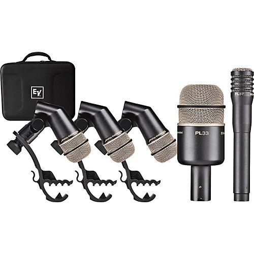 Electro-Voice PL DK4 Plus Drum Mic Pack-thumbnail
