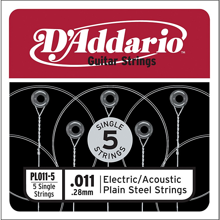 D'Addario PL011-5 Strings