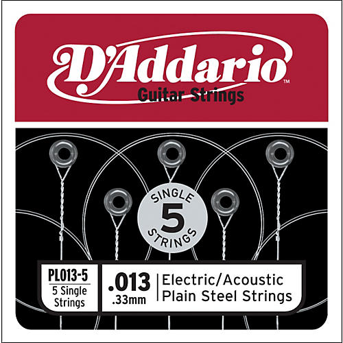 D'Addario PL0135 .0135 Guage String (10 PACK)