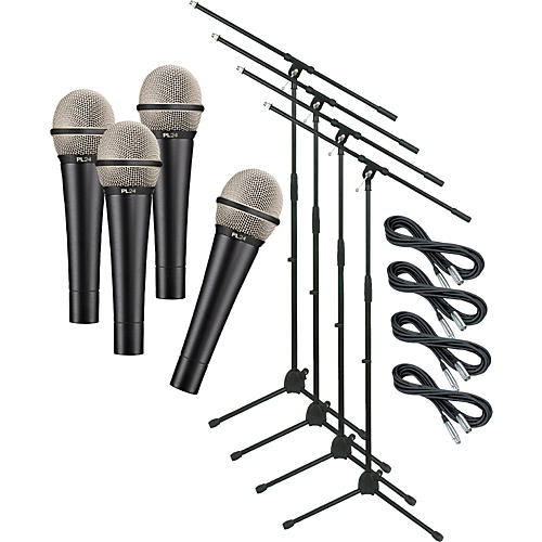Electro-Voice PL24 with Cable and Stand 4 Pack