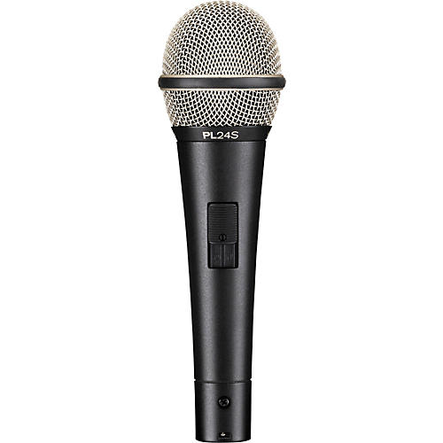 Electro-Voice PL24S Dynamic Vocal Microphone with Switch-thumbnail