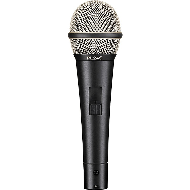 Electro-VoicePL24S Dynamic Vocal Microphone with Switch