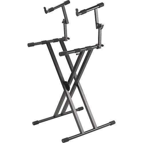 ProLine PL402 2-Tier Double X-Braced Keyboard Stand