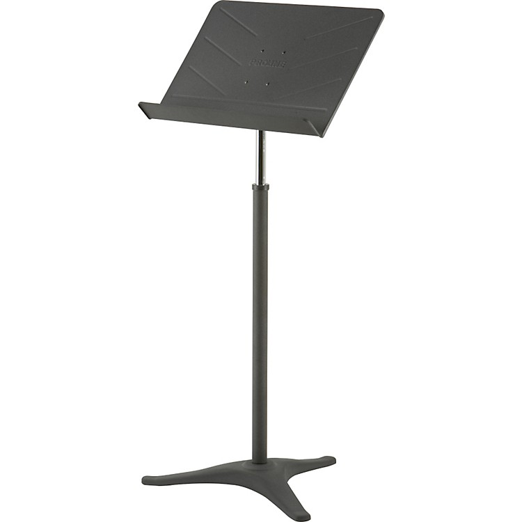ProLine PL49 Deluxe Music Stand Black