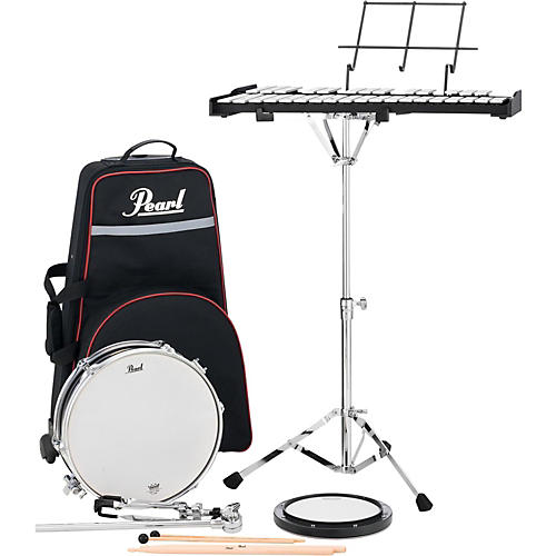 Pearl PL910C Educational Snare and Bell Kit with Rolling Cart-thumbnail