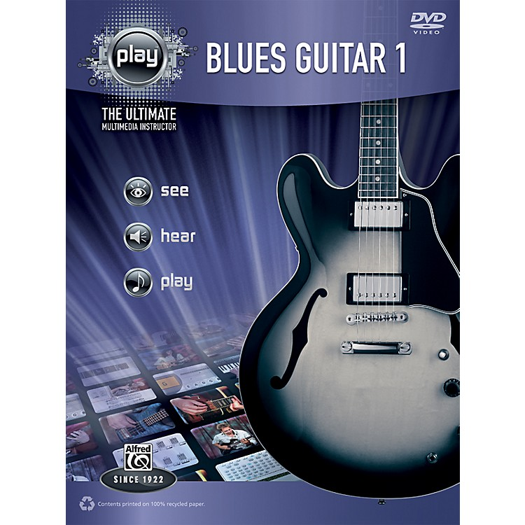 Alfred PLAY Series Blues Guitar 1 Book & DVD