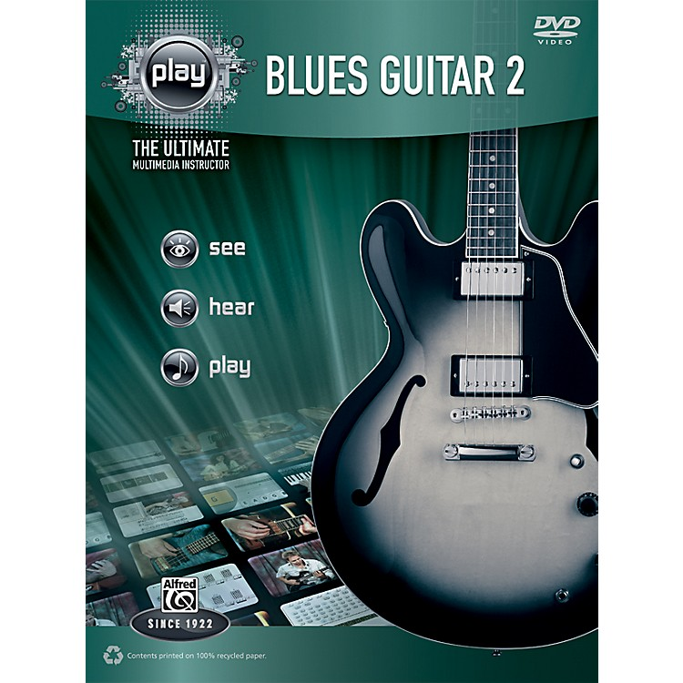 Alfred PLAY Series  Blues Guitar 2 Book & DVD