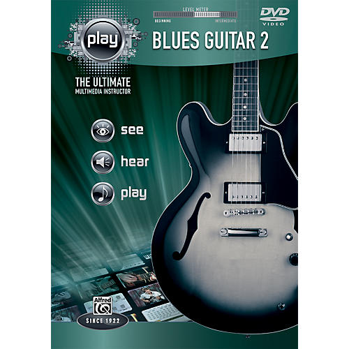 Alfred PLAY Series  Blues Guitar 2 DVD