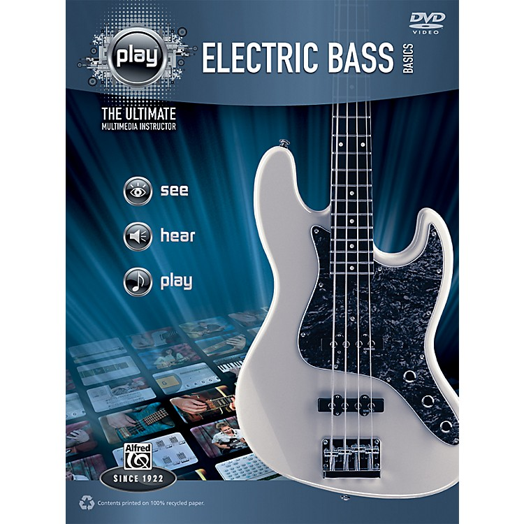 Alfred PLAY Series  Electric Bass Basics Book & DVD
