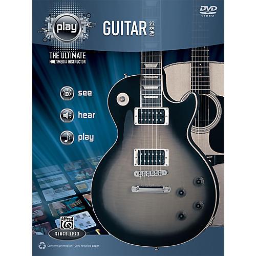 Alfred PLAY Series  Guitar Basics Book & DVD