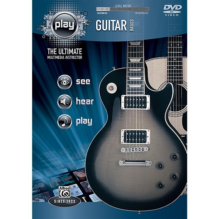 AlfredPLAY Series  Guitar Basics DVD