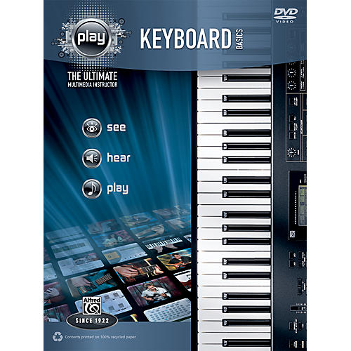 Alfred PLAY Series Keyboard Basics Book & DVD