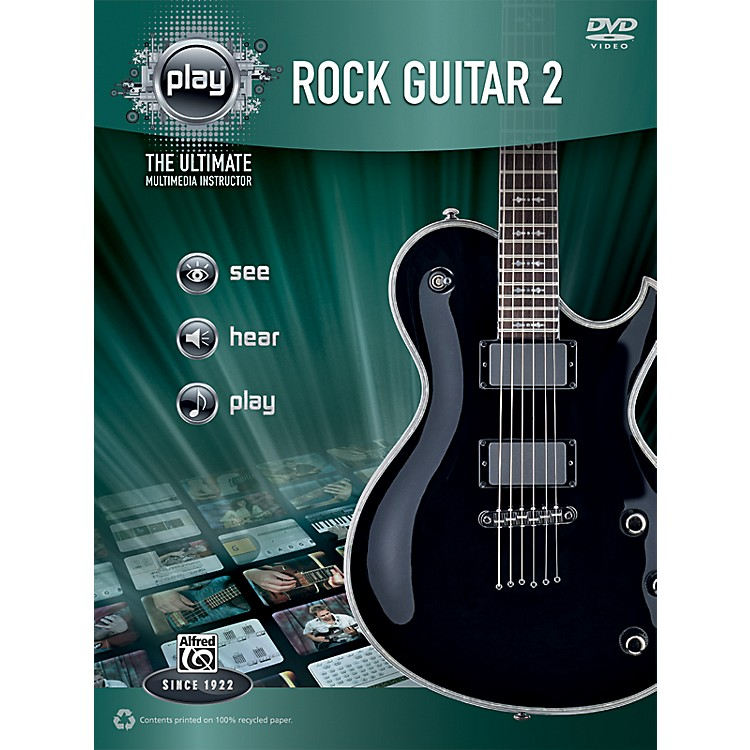 Alfred PLAY Series  Rock Guitar 2 Book & DVD