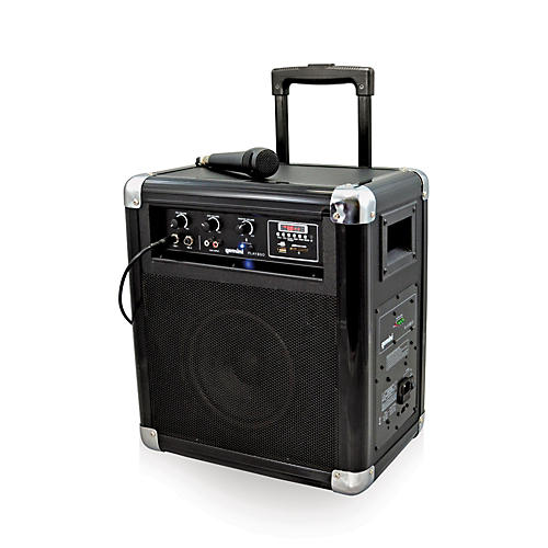 Gemini PLAY2GO Mobile PA System with Bluetooth, USB/SD Playback