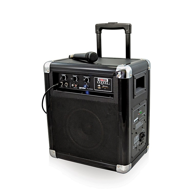 GeminiPLAY2GO Mobile PA System with Bluetooth, USB/SD Playback