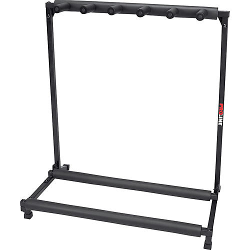 Proline PLMS5 5-Guitar Folding Stand Black