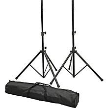 Proline PLSP1 Speaker Stand Set with Bag Black