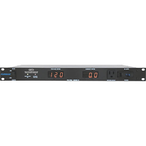 Furman PM-Pro Series II Power Conditioner with Digital Volt And Current Meters