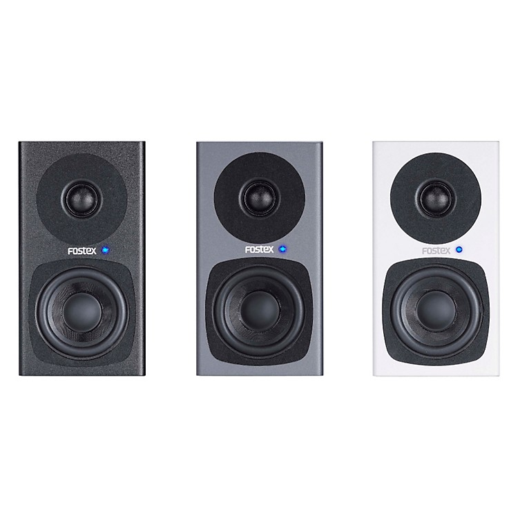 "Fostex PM0.3 3"" Studio Monitors (Pair) Grey"